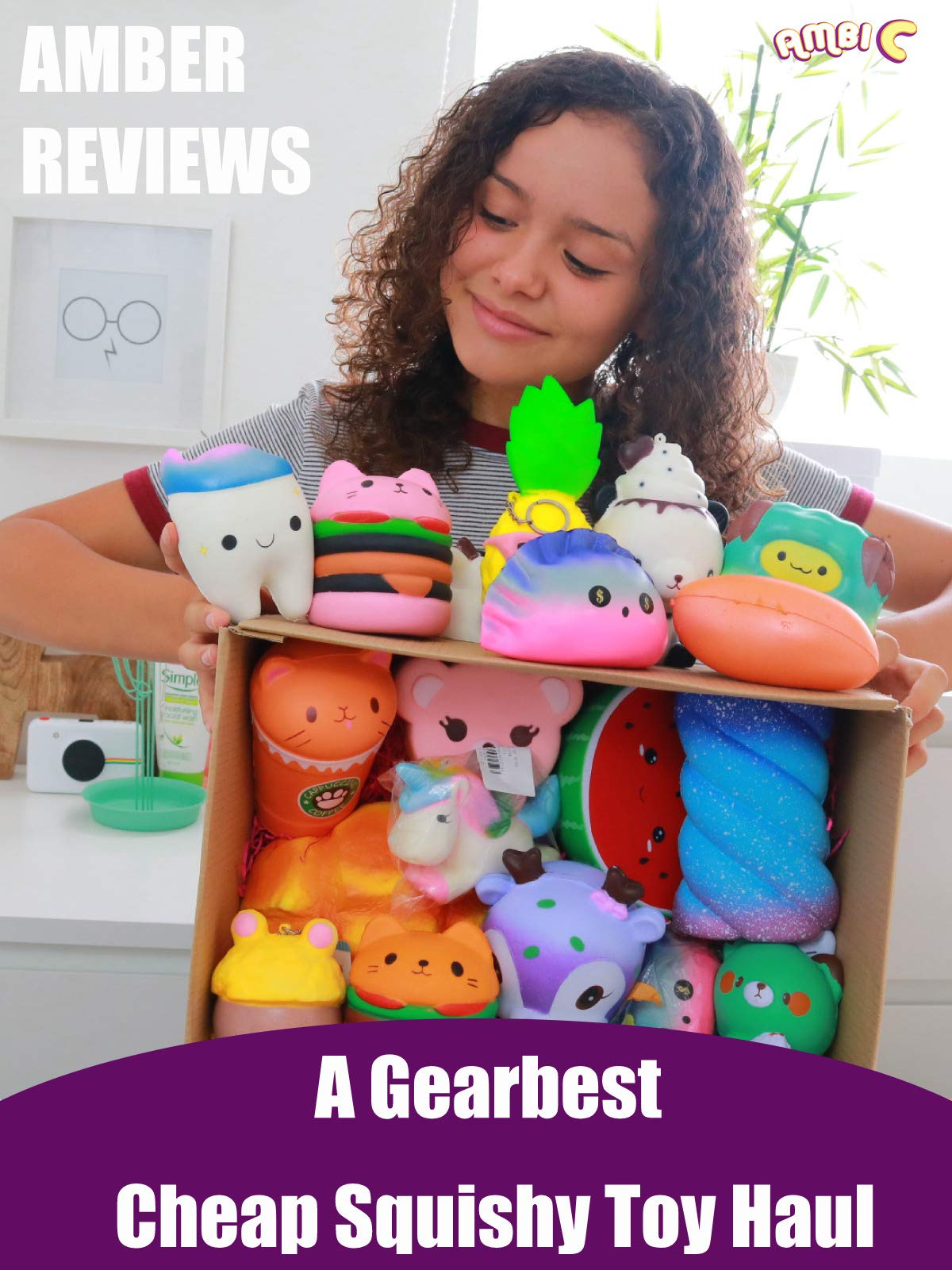 Amber Reviews a Gearbest Cheap Squishy Toy Haul
