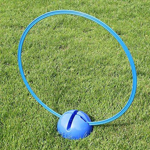 Bild von: Kombi-X-Fuß mit Kombi-Ring 70 cm, in 4 Farben, für Agility - Hundetraining (blau)