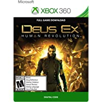 Deus Ex: Human Revolution for Xbox 360 Game (Download)