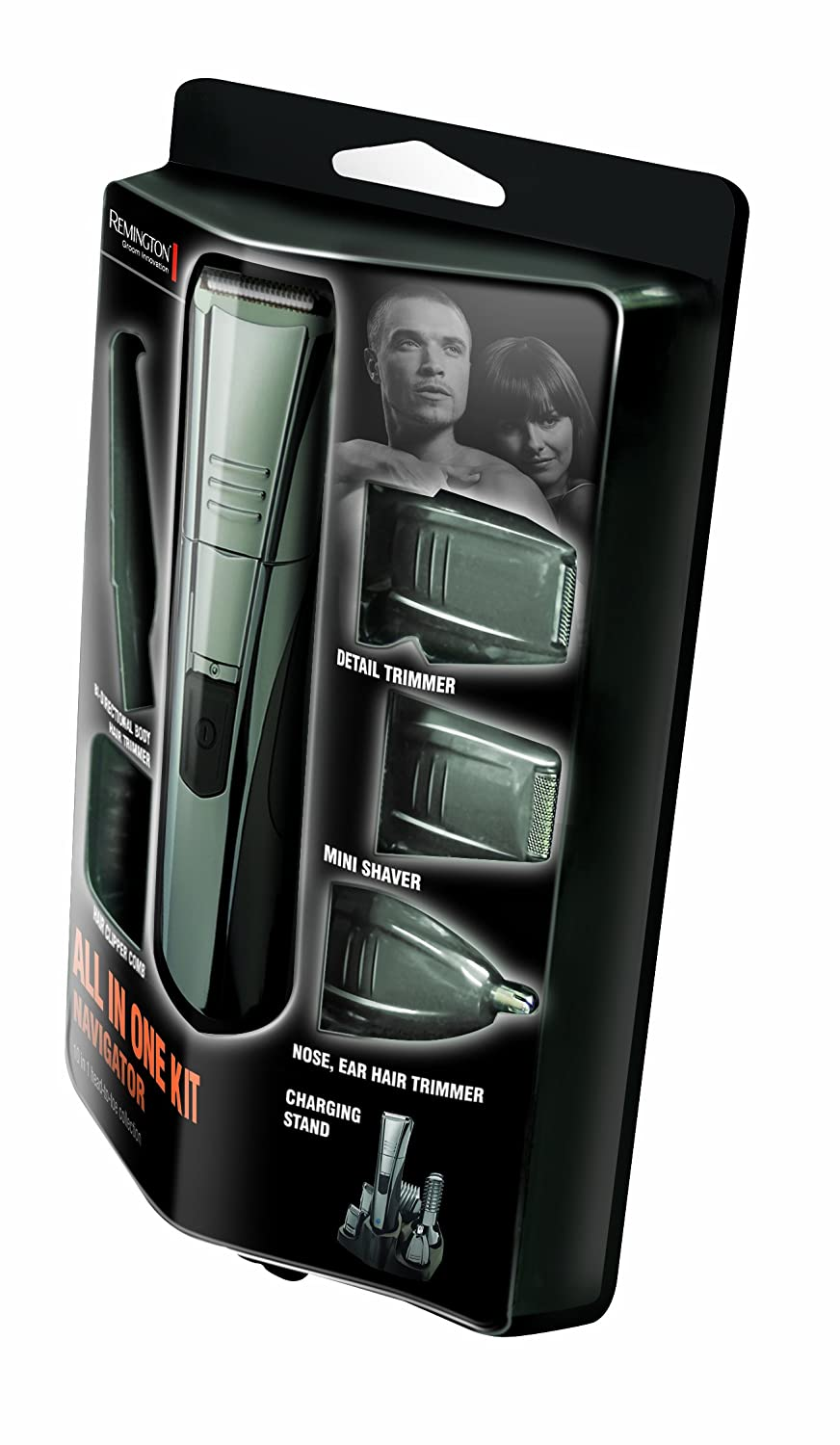 remington pg520 navigator all in 1 grooming kit hair beard clippers ebay. Black Bedroom Furniture Sets. Home Design Ideas