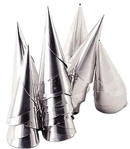 Tala - Moldes en forma de cono (papel de aluminio, 100 unidades)   Comentarios y más información