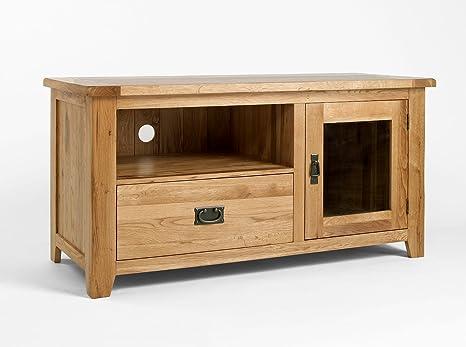 Westbury Schminkstisch-Spiegel, Eiche, Tv-Schrank, TV-Möbel