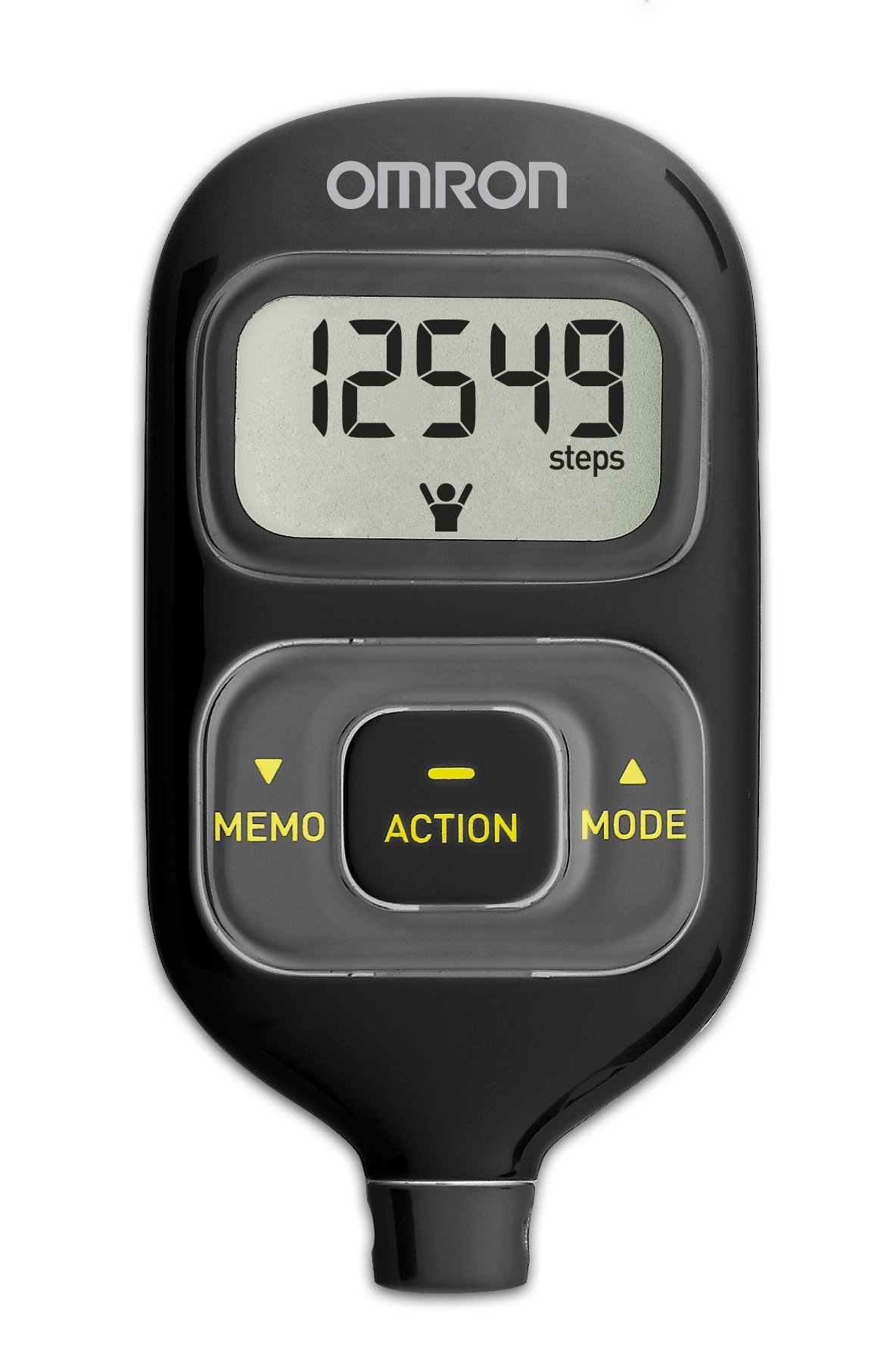 Pedometer Omron - a personal trainer for little money 26