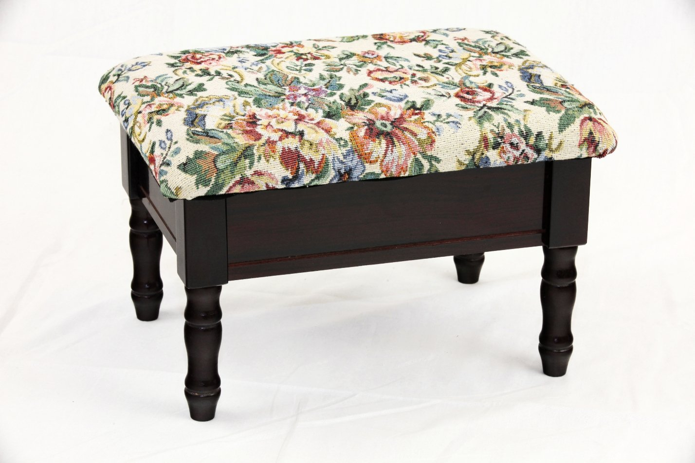 Frenchi Home Furnishing Queen Anne Style Footstool