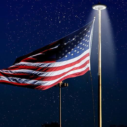 Light Pole Jumps: Flagpole Upgraded Brightest Longest Energy Weatherproof