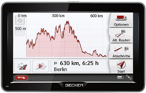 Becker 1501790000 GPS Noir