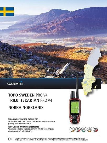 Garmin TOPO SWEDEN PRO V4 - Norra Norrland