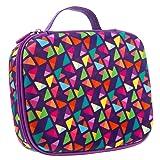 ZIPIT Colorz Big Pencil Case/Pencil Box/Storage Box, Purple (Color: Purple)
