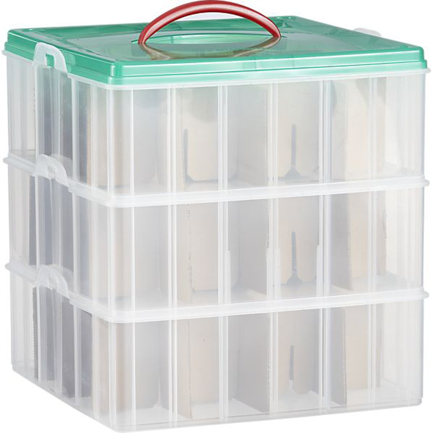 Snapware / Paksh Christmas Plastic Ornament Storage Container | Lausks.com