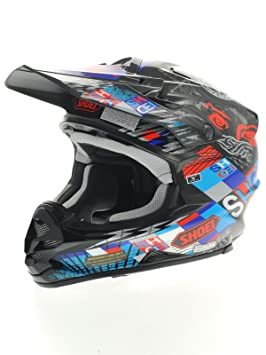Casque Motocross Shoei 2015 VFX-W Krack TC2 Noir-Multi