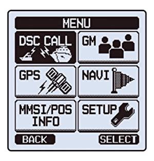 Standard Horizon HX870 Floating 6W Handheld VHF with Internal GPS (Color: Black, Tamaño: power - output (watts) = 6w | ipx rating = ipx8 |)