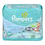 Pampers Baby Fresh Wipes 3x Travel Pack, 192-Count: Amazon.ca: Health & Personal Care
