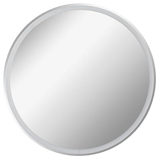 Fackelmann LED specchio da bagno rotondo 80cm umlaufende LED