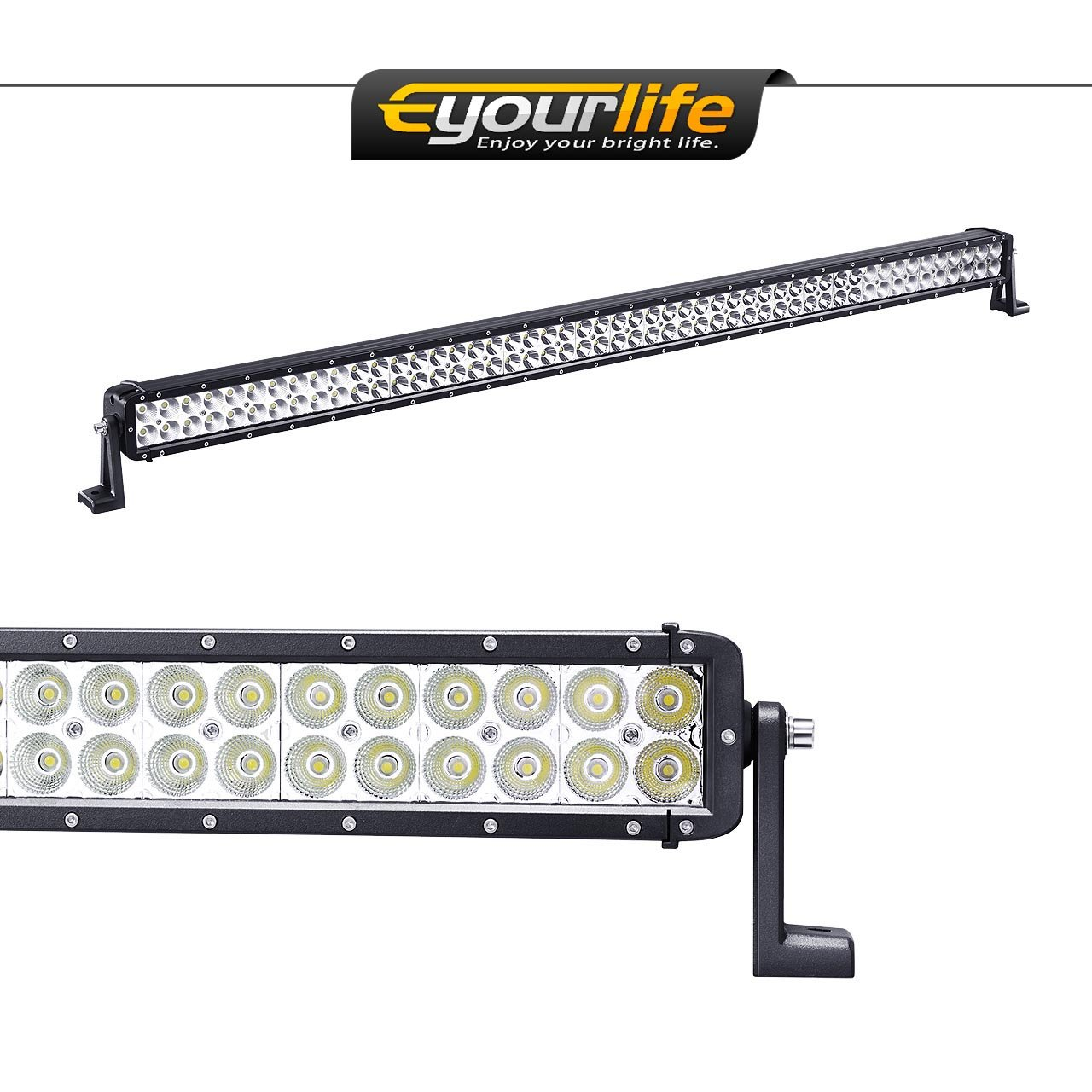 "Eyourlife Off Road Extra 52"" Light Bar 300W Flood Spot Combo Beam"