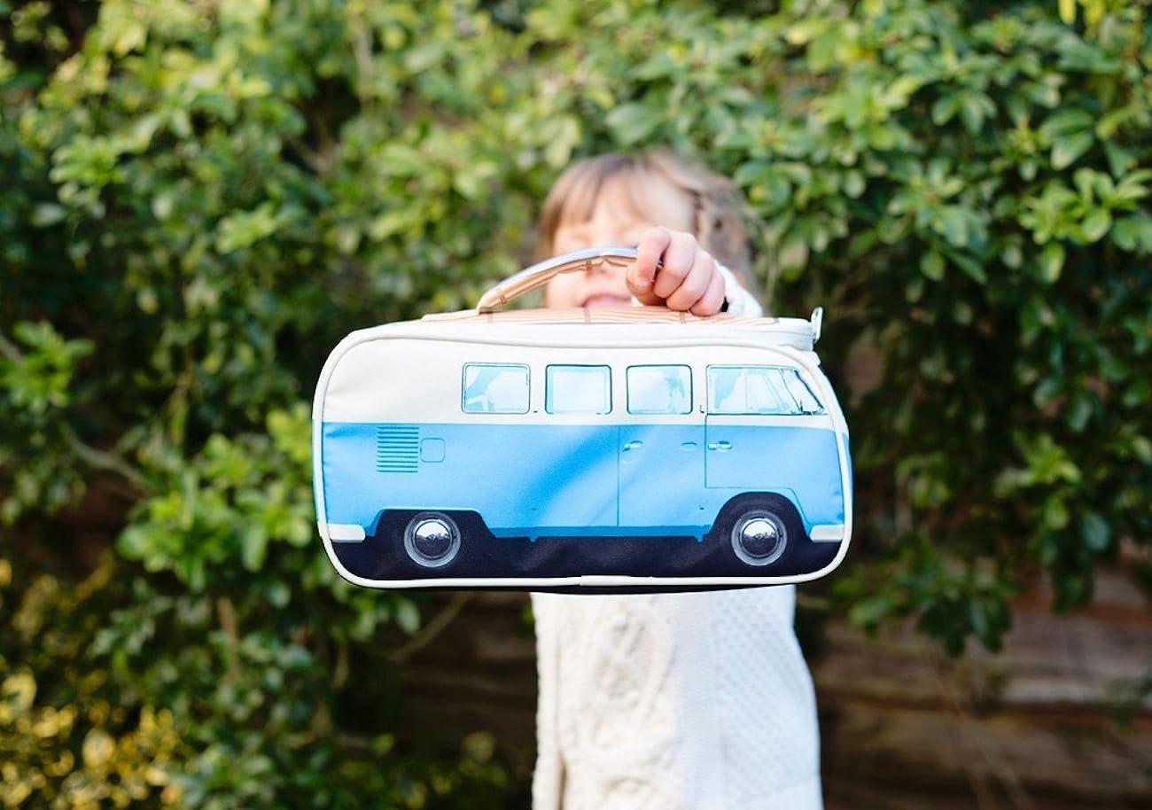 VW Volkswagen T1 Camper Van Lunch Bag - Blue - Multiple Color Options Available 4