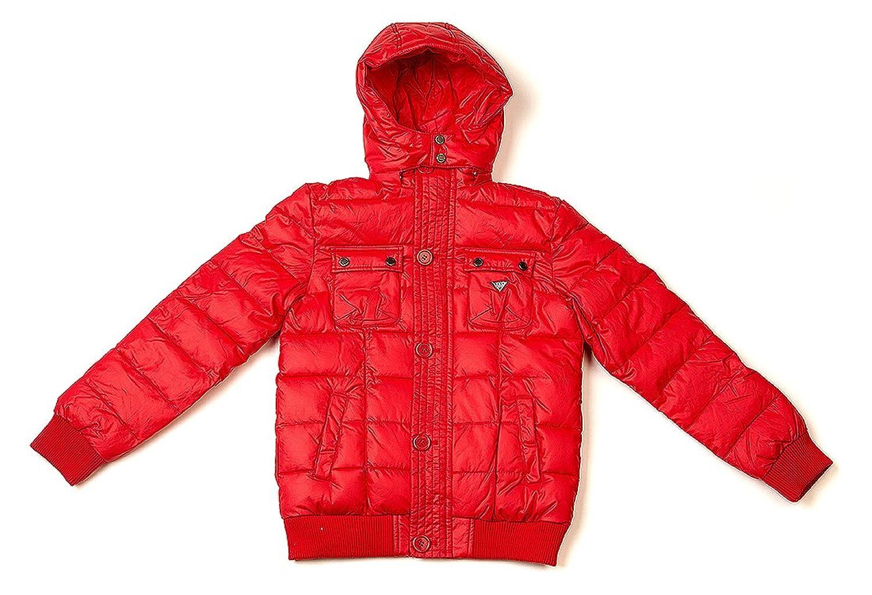 Best Band Winterjacke / Jungen Jacke mit Kapuze aus Baumwolle in Rot jetzt kaufen