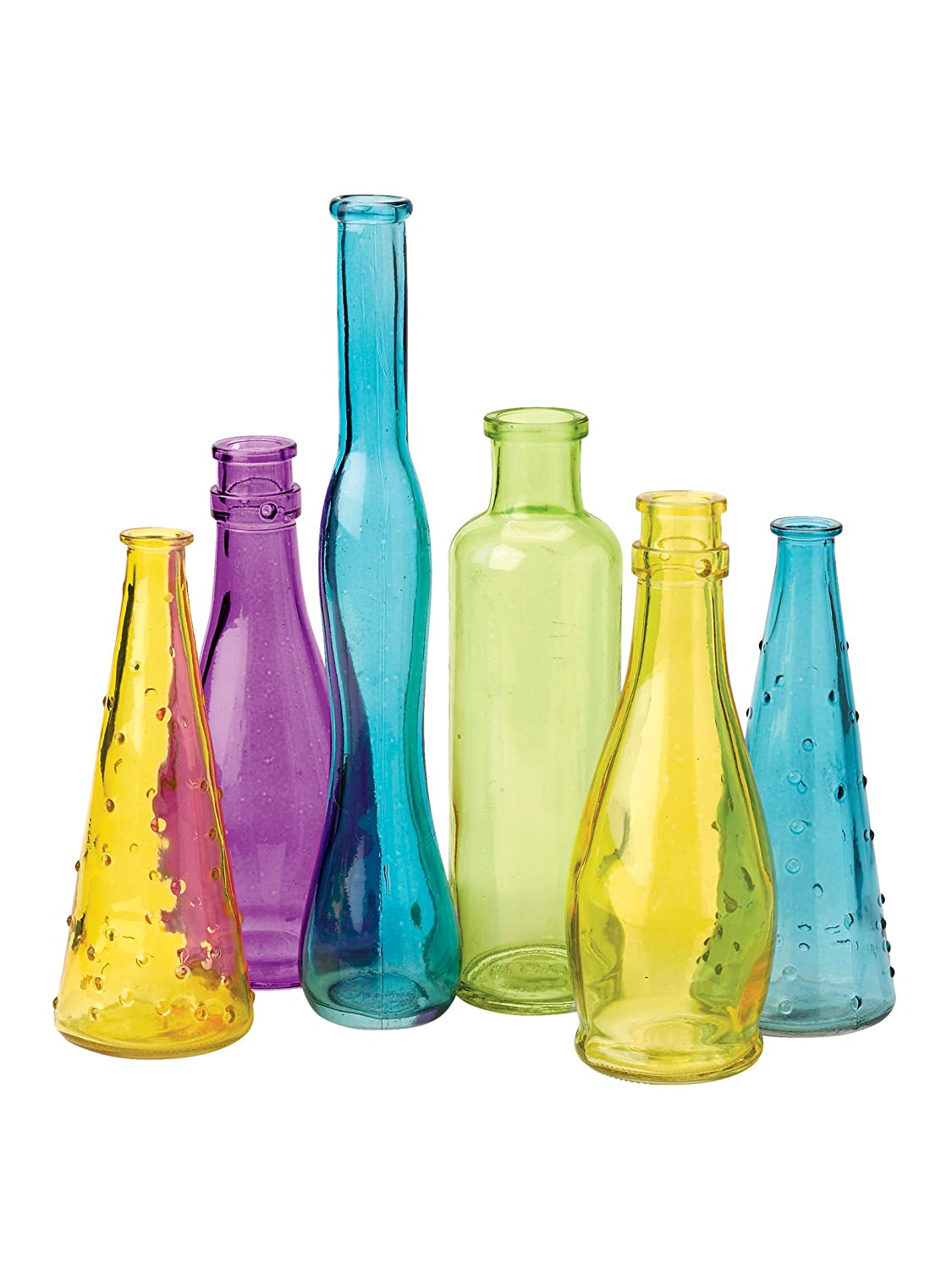 Colored glass bottles suppliers buy colored glass vases 5 for How to color wine bottles