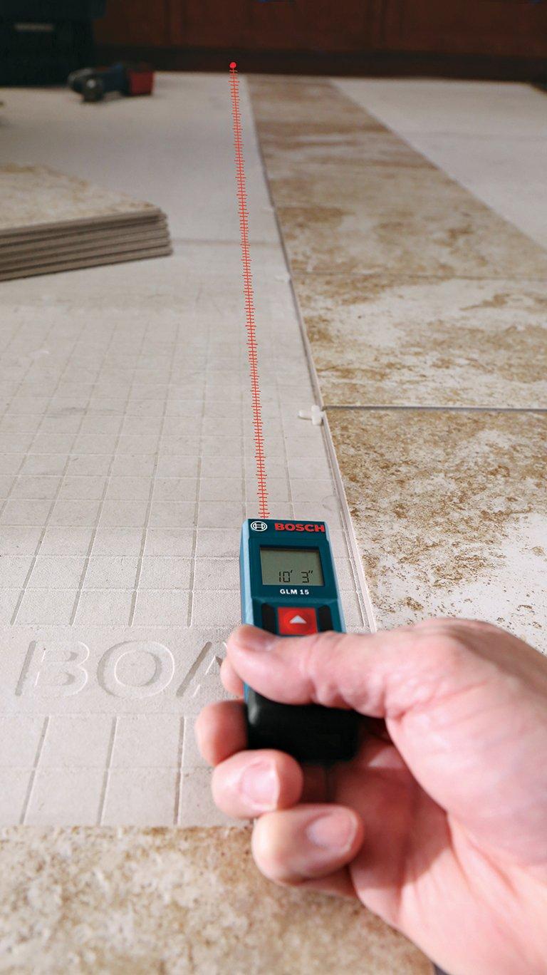 Measuring Distance Laser Tool Portable Tape Digital