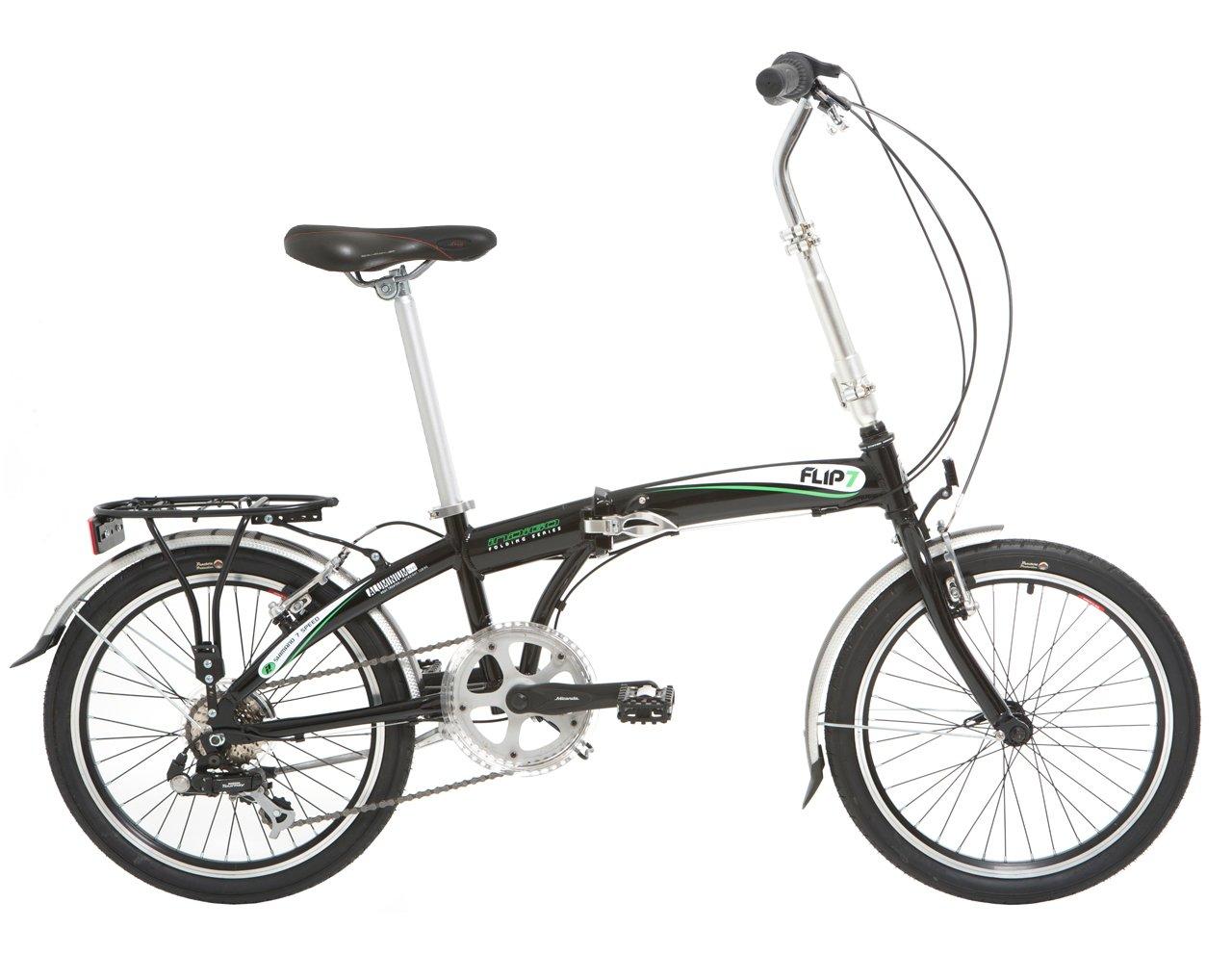 Bicicleta plegable Indigo, urbana de 7 velocidades