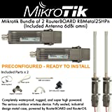 Mikrotik Metal 2 Wireless Standards (Included Antenna) 2PACK PRE-CONFIGURED