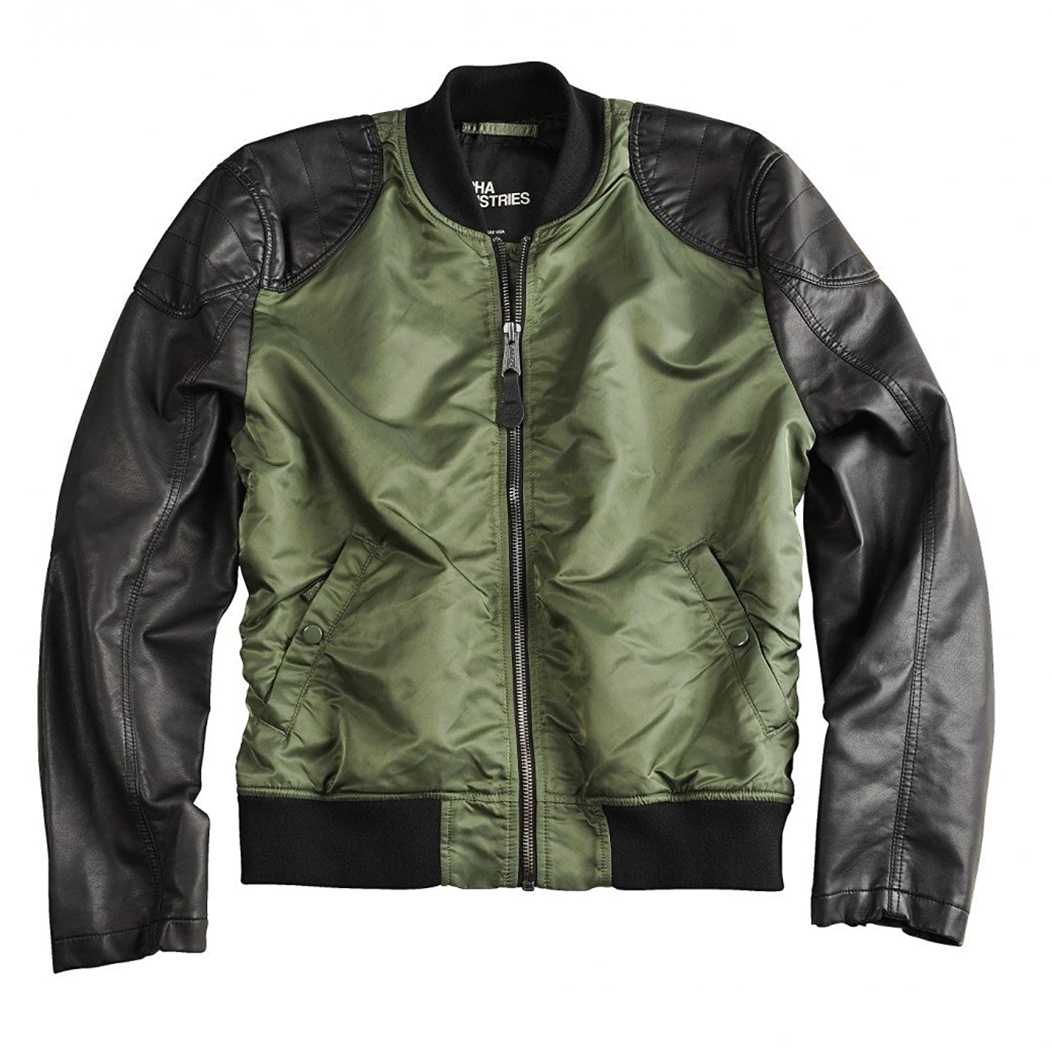 Alpha Industries Herren Übergangsjacke Dirt Bike schwarz