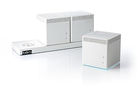Enceinte WIFI-Bluetooth® Speaker TRIO B?M Wireless - Blanc