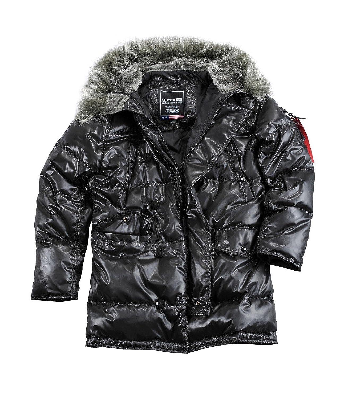Alpha Industries N3B Down Winterjacke Black jetzt kaufen