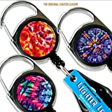 LIGHTER LEASH Premium Clip Tie Dye Series (Color: Multi)