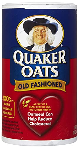 Quaker Old Fashioned Oats 18 oz (030000010204)