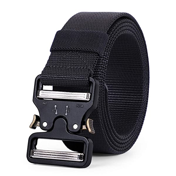 Youngate Nylon Belt Outdoor Military Web Belt 1.5 Men Tactical Webbing Belt