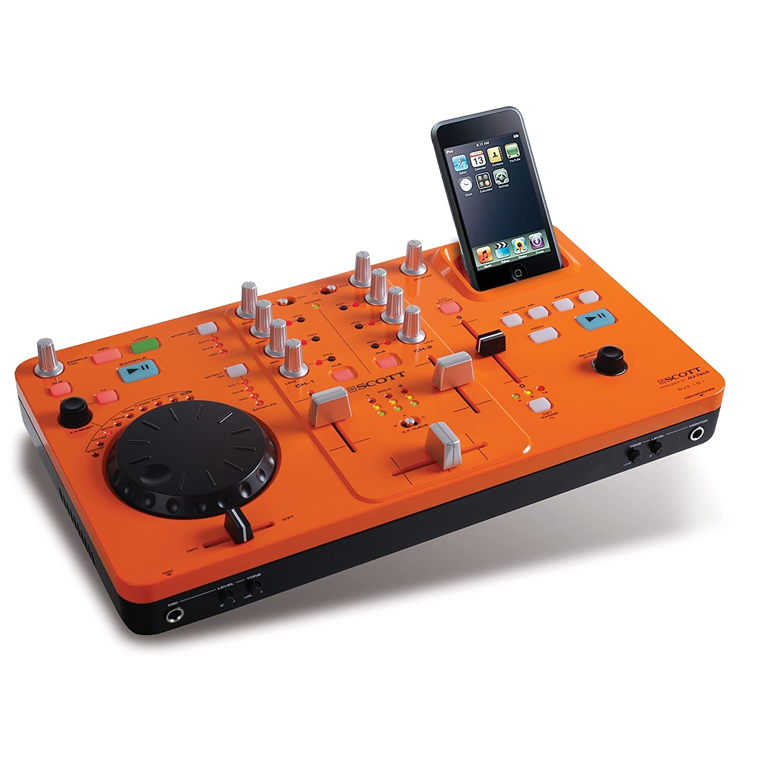 DJ-Mischpult f�r den Apple iPod