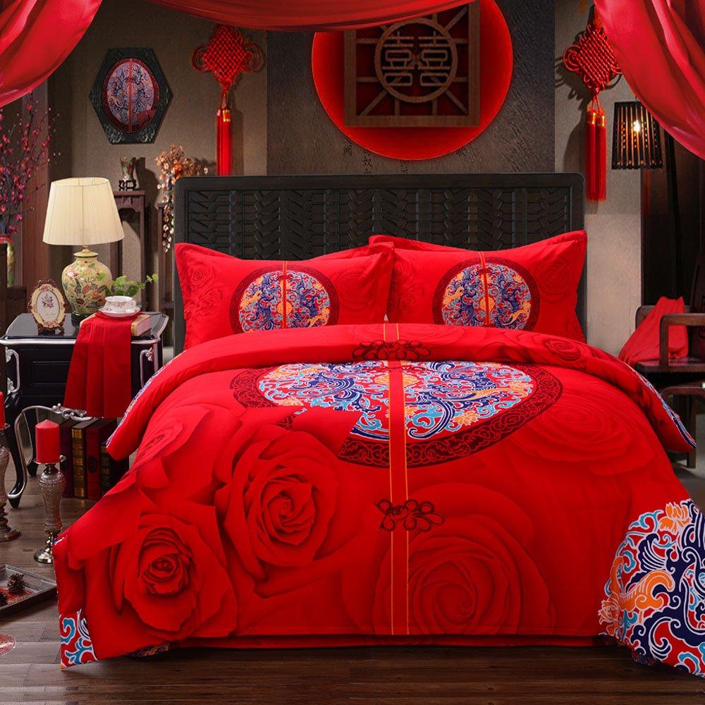 Boho Style Bedding Set