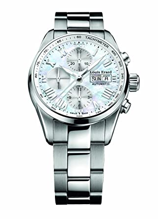 Louis Erard Men's 78102AA04.BMA22 Heritage Automatic Chronograph Tachymeter Date Watch