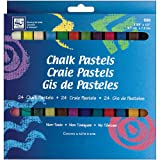 Loew-Cornell Chalk Pastels, 24-Count