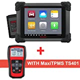 Autel Maxisys MS908 Automotive Diagnostic Scanner Tool and Analysis System with MaxiTPMS TS401 TPMS Reset Tool (Tamaño: MS908+TS401)