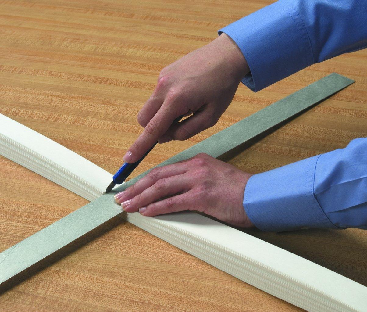 Quick Fix Redi Shade Adhesive White Fabric Window Shade Blind Curtain 36 X 72 Ebay