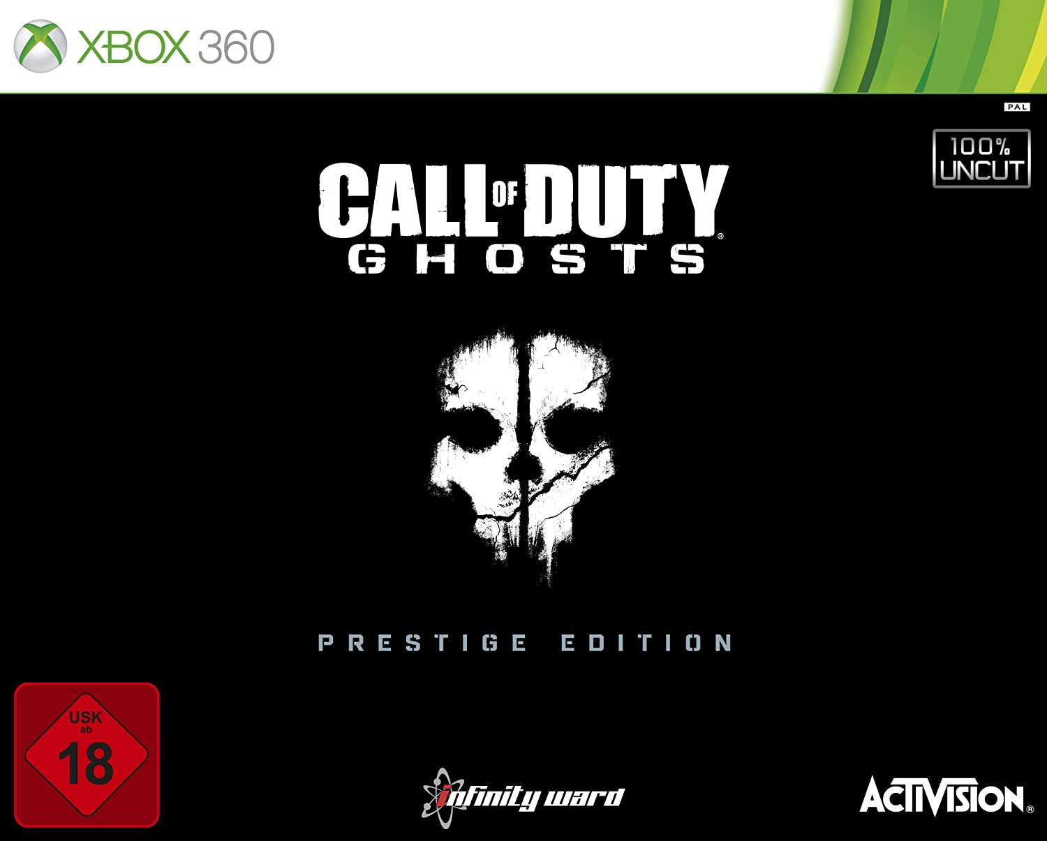 Call of Duty: Ghosts Prestige Edition Xbox 360 amazon