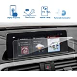 LFOTPP BMW 2 Series 3 Series 4 Series 8.8-Inch Car Navigation Screen Protector,Clear Tempered Glass Center Touch Screen Protector Anti Scratch High Clarity (Color: BMW 2 Series 3 Series 4 Series 8.8-Inch)