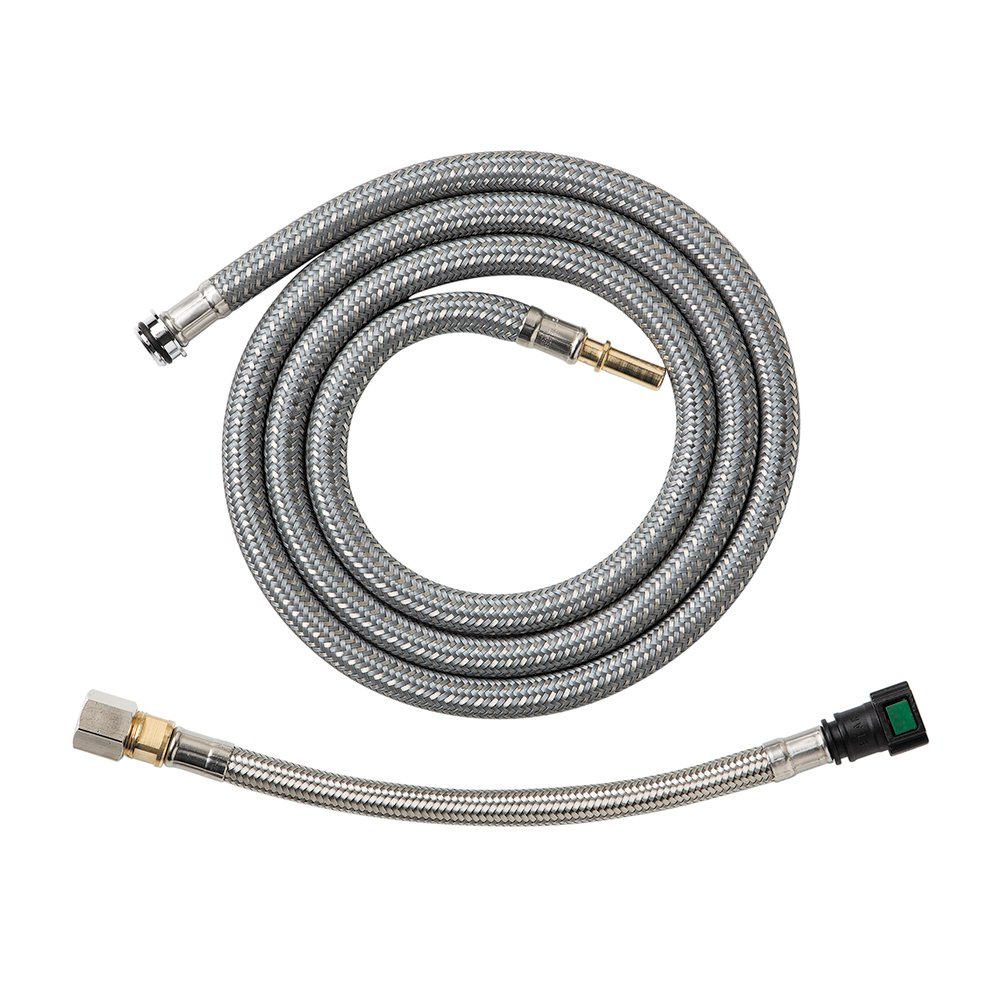 hansgrohe 88624000 pull kitchen faucet hose chrome
