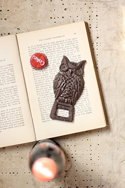 Cast Iron Owl Bottle Opener