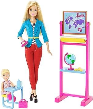 Barbie - Ccp69 - Poupée Mannequin - Maitresse D'école