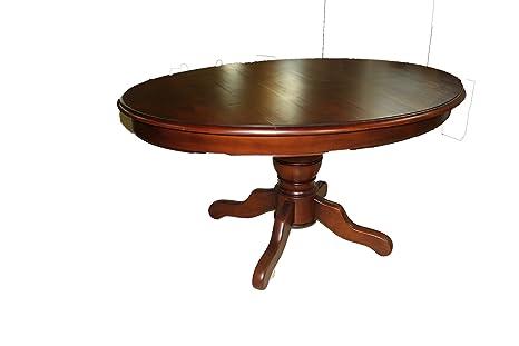 Table de salle à manger elliptique cerisier