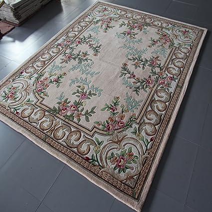 Europeos alfombras hechas a mano/Sala mesa de centro alfombras acolchadas/Alfombra de dormitorio en el estudio-D 140x200cm(55x79inch)