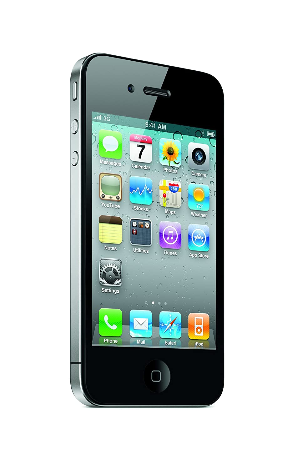 AT-T-Apple-iPhone-4-16GB-No-Contract-3G-GSM-Camera-Touch-WiFi-Smartphone