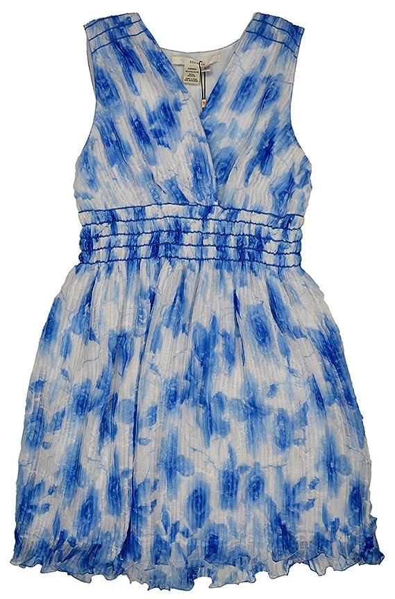 Studio M Women's Floral Sun Dress Susanna Blue