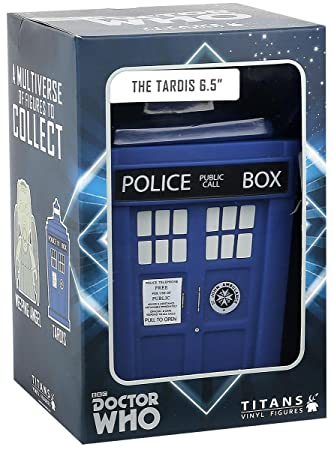 "Doctor Who - Figurines vinyl titans - TARDIS 6.5"" / 16.5cm"