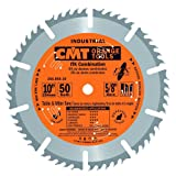 CMT 256.050.10 ITK Industrial Combination Saw Blade, 10-Inch x 50 Teeth 1FTG+4ATB Grindwith 5/8-Inch Bore (Tamaño: D 10 254mm | T 50 | B 5/8 | K .075 | P .098)