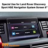 Land Rover Discovery Sport HSE 2015-2016 8-Inch Car Navigation Screen Protector,LFOTPP [9H Hardness] Tempered Glass in-Dash Screen Protector Center Touch Screen Protector Anti Scratch High Clarity