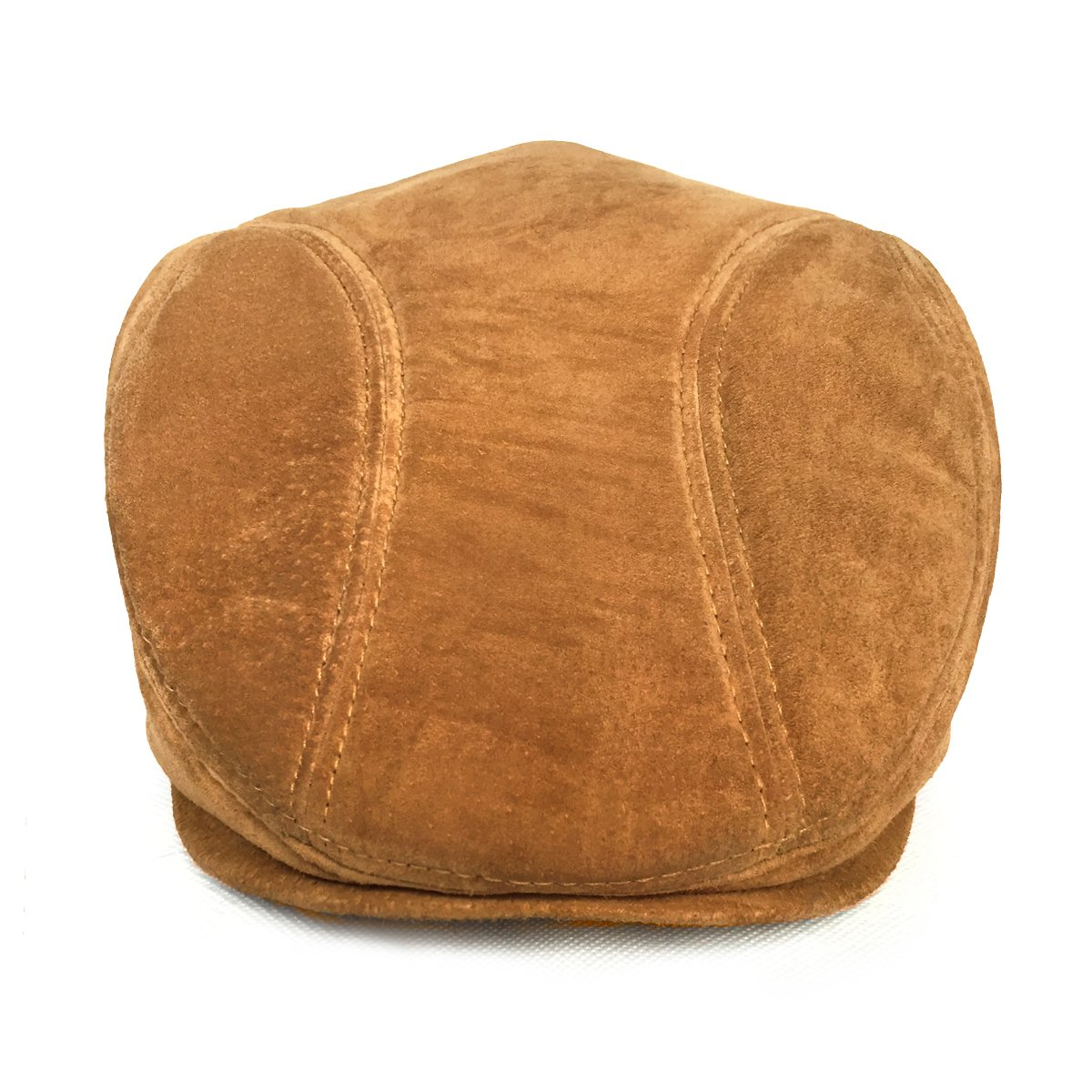 LETHMIK Classic Newsboy Flat Hat Genuine Leather Cabbie Hat Ivy Cap Driving 1