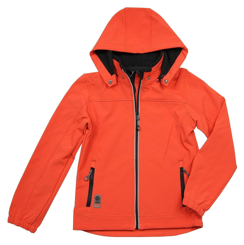Topo Jungen Softshelljacke mit Kapuze orange günstig kaufen